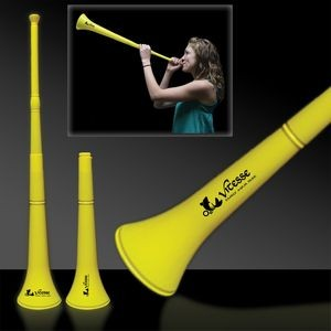 "28"" Yellow Collapsible Stadium Horn"