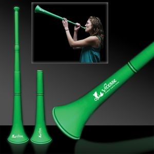 "28"" Green Collapsible Stadium Horn"