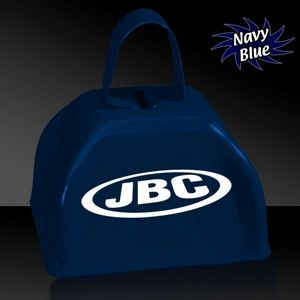 "3"" Navy Blue Metal Cowbell"