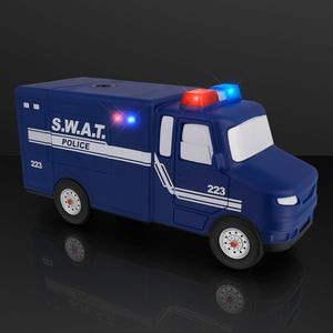 Light Up Police Truck Electric Pencil Sharpener
