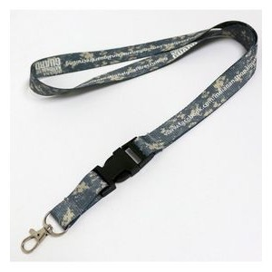 "ACU Custom Lanyards (Dye Sublimated-Full Color 3/4"" X 36"")"